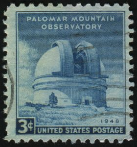 UNITED STATES - CIRCA 1948: stamp printed by United states, shows Observatory Palomar, circa 1948.